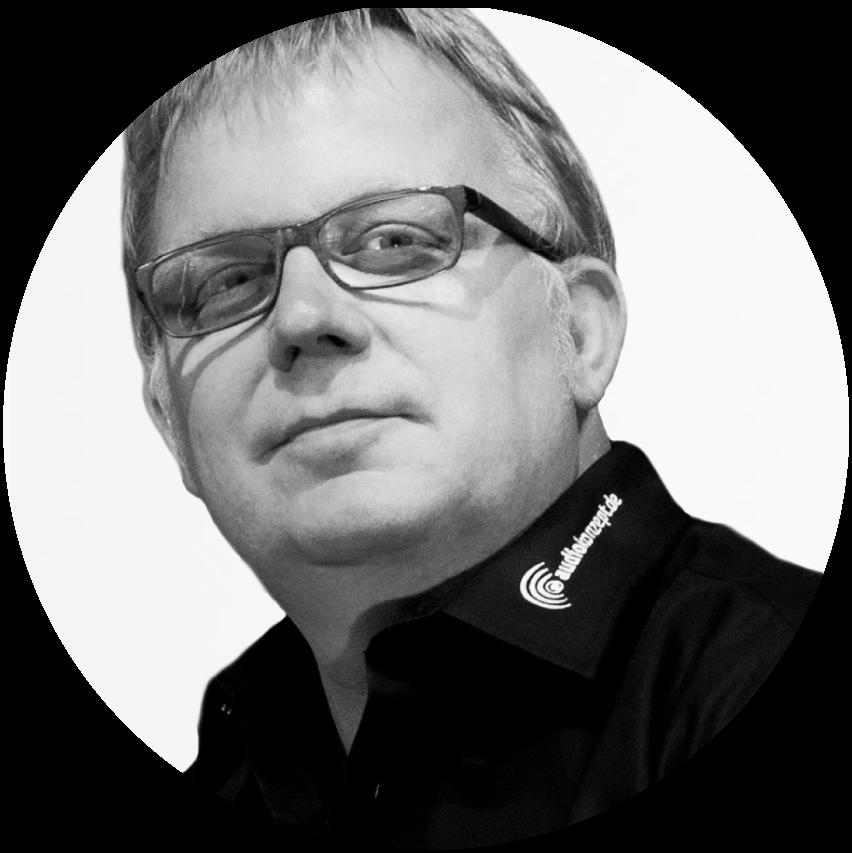 Jürgen Brüning Geschäftsführer Audiokonzept