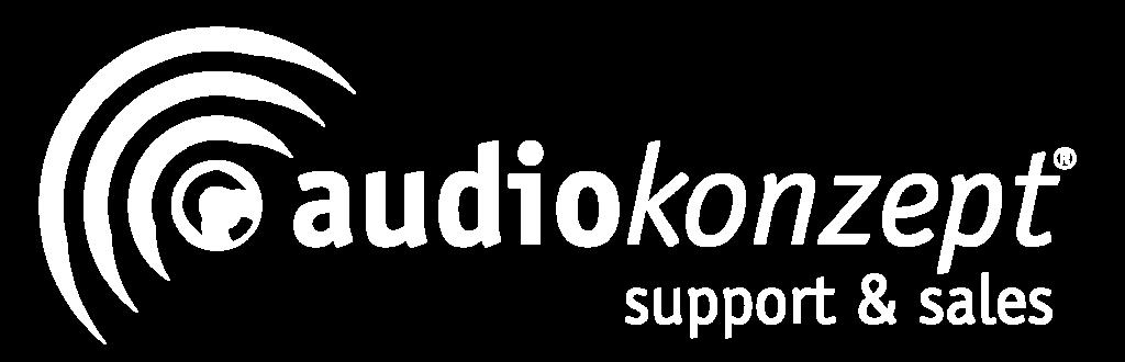 Logo von unserem Livestream Partner Audiokonzept